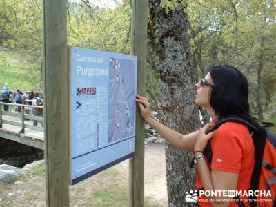 Rascafria, El Paular, Cascadas del Purgatorio, Las Presillas; recorrido rio tajo; senderismo rutas